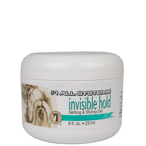 #1 All Systems hunde stylinggel INVISIBLE-HOLD