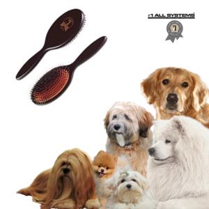 Hundebørste Bristle Nylon Mason Pearson style