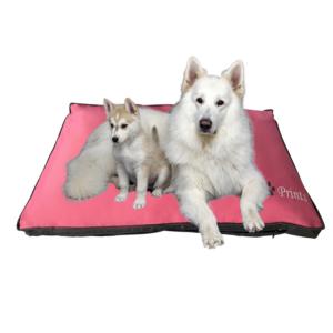 Hundepude slidstærk vandafvisende stor hund PINK
