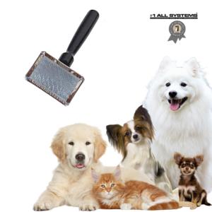 Hundekarte kvalitets hundebørste #1 All Systems