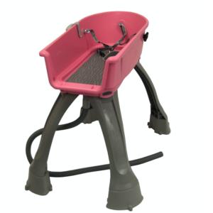 Hundebadekar Booster Bath mellem størrelse pink