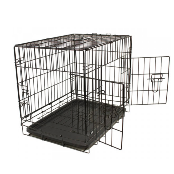 transportbur letvægts i stål til hund