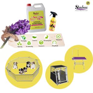 Rengøringsmiddel miljøvenlig fjerner lugtgener fra hund