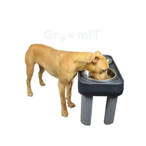 Forhøjet hunde foderstativ til STORE HUNDE