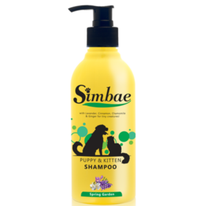 Hvalpe shampoo mild økologisk allergivenlig Spring-Garden