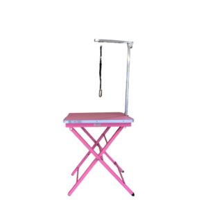 Hundetrimmebord letvægts udstillingsbord demomodel i PINK