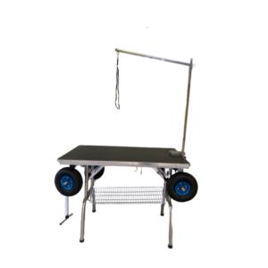 Trimmebord DEMOMODEL hunde udstillingsbord lufthjul sort