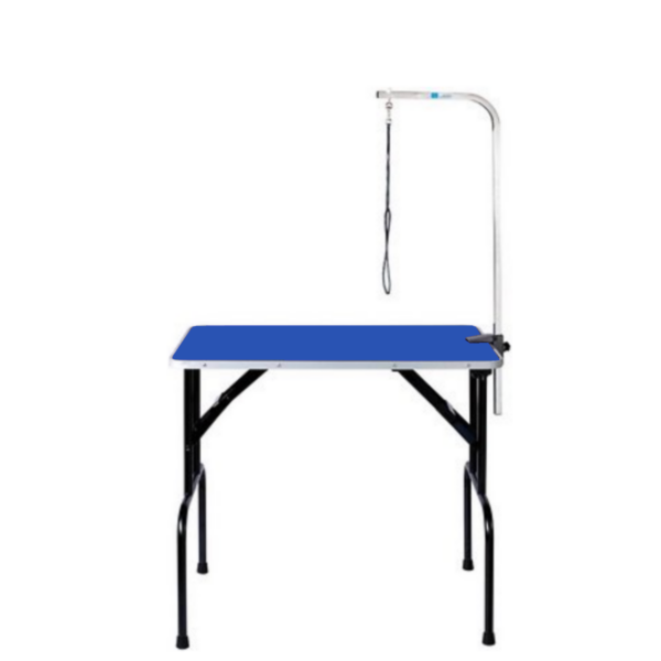 Hunde trimmebord udstillingsbord foldbart SMALL BLÅ