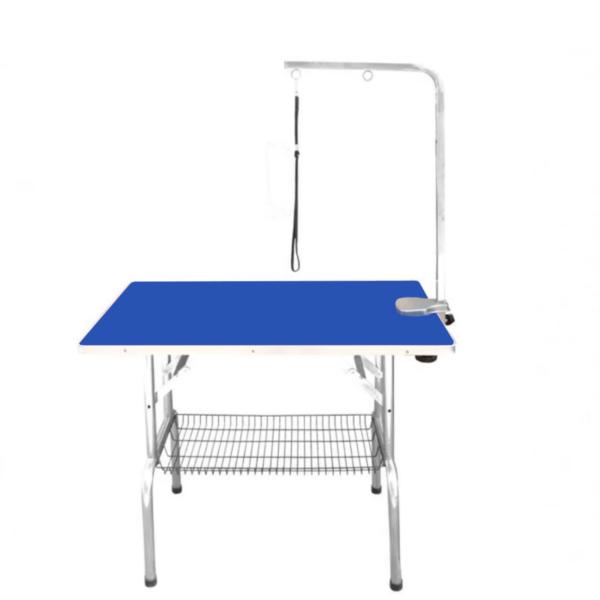Foldbart hundetrimmebord kvalitets udstillingsbord medium BLÅ