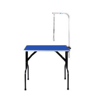 Hunde trimmebord udstillingsbord foldbart MEDIUM BLÅ