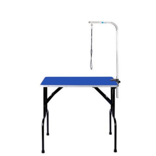 Hundetrimmebord udstillingsbord foldbart LARGE i BLÅ
