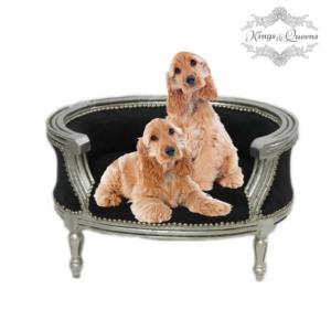 Hundeseng luksus kvalitet fra Kings&Queens sort