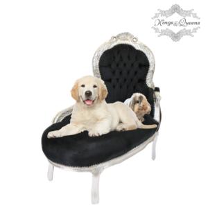 Hundechaiselong luksus kvalitet fra Kings&Queens sort