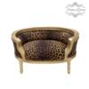 Hundeseng luksus kvalitet fra Kings&Queens leopard