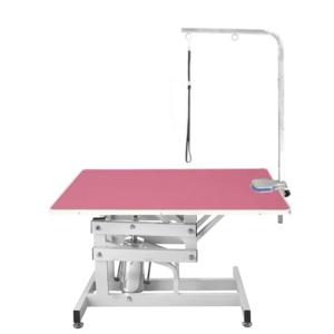 Hydraulisk trimmebord XL lyserød stor hund