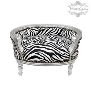 Hundeseng luksus kvalitet fra Kings&Queens Zebra