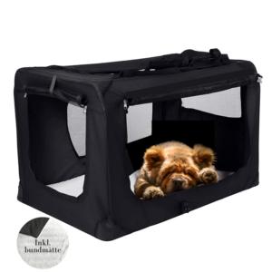 Hunde transportbur foldbar kraftig stof XXXL