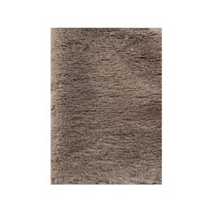 Hundetæppe vetbed uden gummibagside jordfarve 75x100