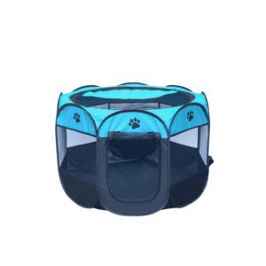 Hvalpegård X-Small foldbar stærkt kanvas blå