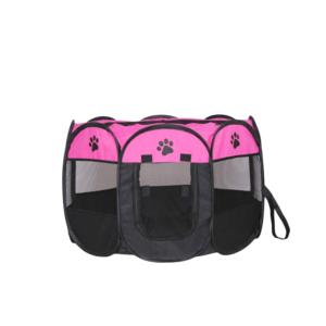Hvalpegård X-Small foldbar stærkt kanvas pink