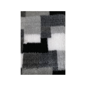 Hunde vetbed grå/hvid sort tern 75x100cm