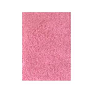 Hunde vetbed flot lyserød farve 100x150cm