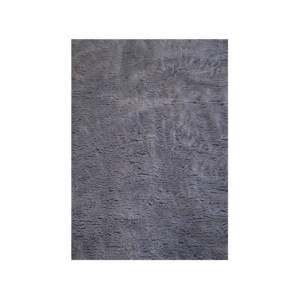 Hundetæppe vetbed uden gummibagside mørkegrå 75x100