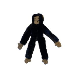Hundelegetøj plys abe med piv 35cm