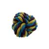 Hundelegetøj bold i snor multifarver 8,5cm