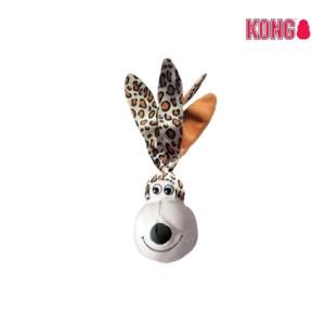 KONG Floppy Ears Wubba™ SMALL leopard