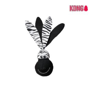 KONG Floppy Ears Wubba™ SMALL zebra