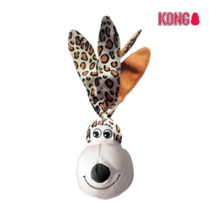 KONG Floppy Ears Wubba™ LARGE leopard
