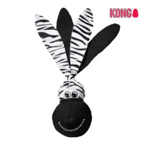 KONG Floppy Ears Wubba™ LARGE zebra
